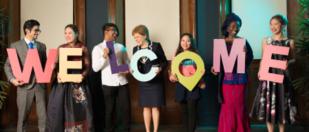 Scottish Universities Welcome the World