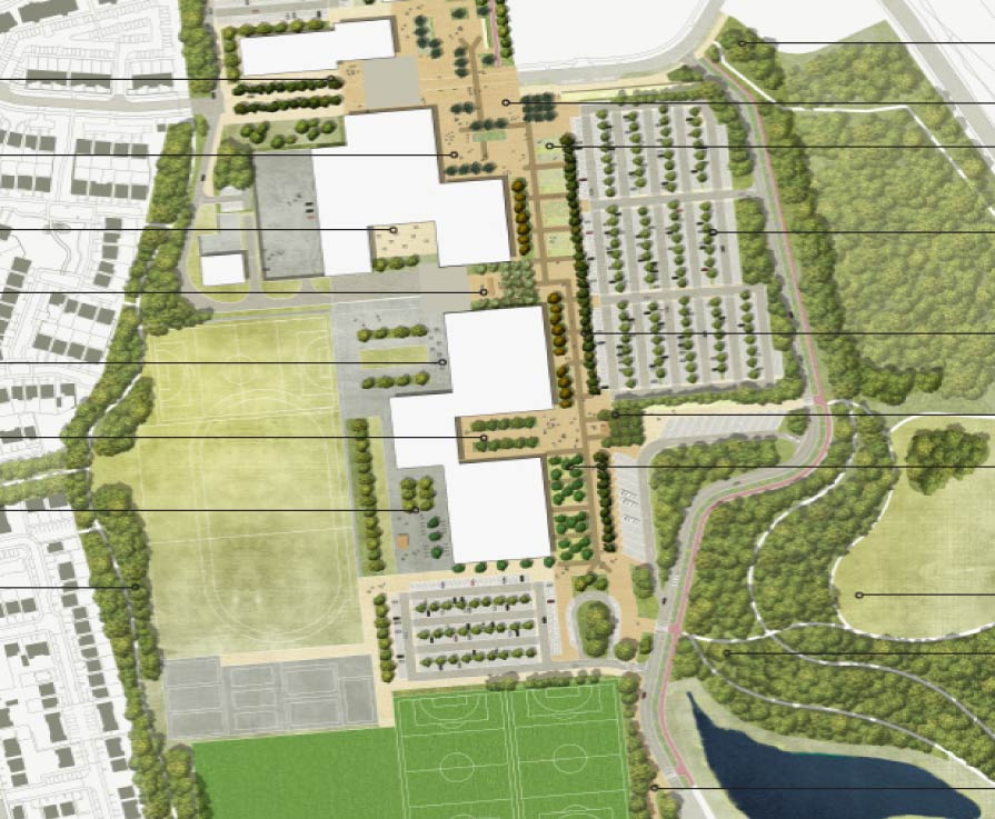 Dunfermline Learning Campus draft master plan