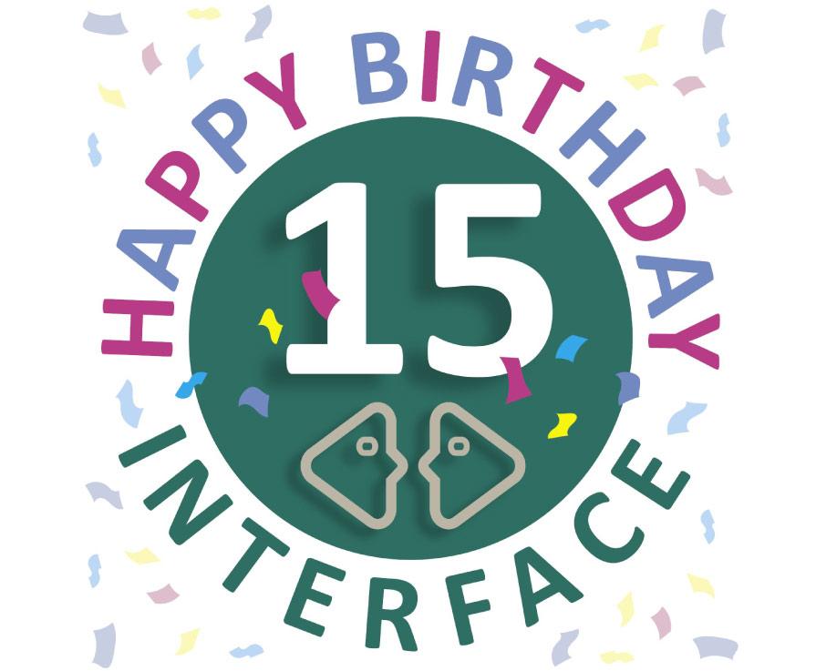 Interface celebrates its 15th anniversary