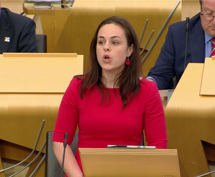 Kate Forbes MSP, Cabinet Secretary for Finance