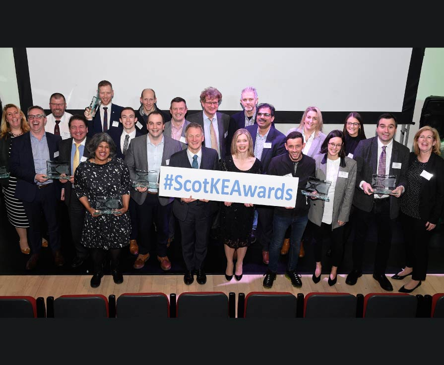 Knowledge Exchange stars shine at awards ceremony