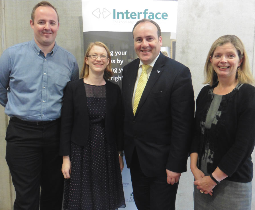 Impact of Interface reaches £64m
