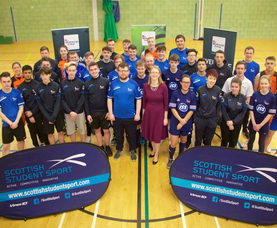 All eyes on the goal for student sport