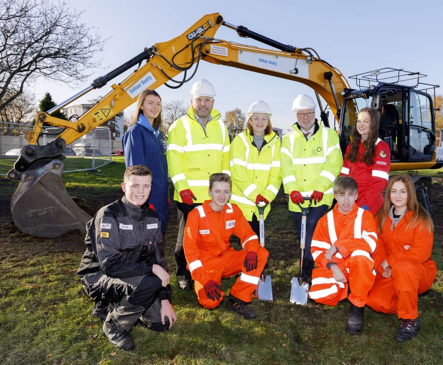 Work starts on Forth Valley's new campus