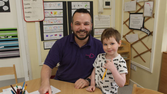 Russell at Dunblane PS Nursery Class 6
