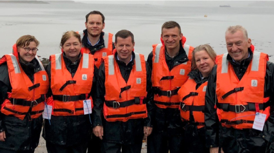Visit to Scottish Sea Farms
