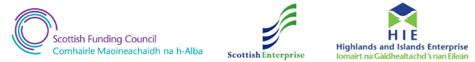 Innovation Centres Programme Partners (Scottish Funding Council, Scottish Enterprise and Highlands and Islands Enterprise)