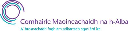 SFC logo in Gaelic