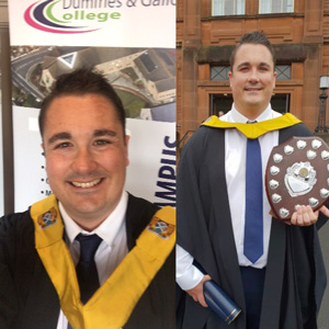 Christopher Palmer, MA in Primary Education student, University of Glasgow