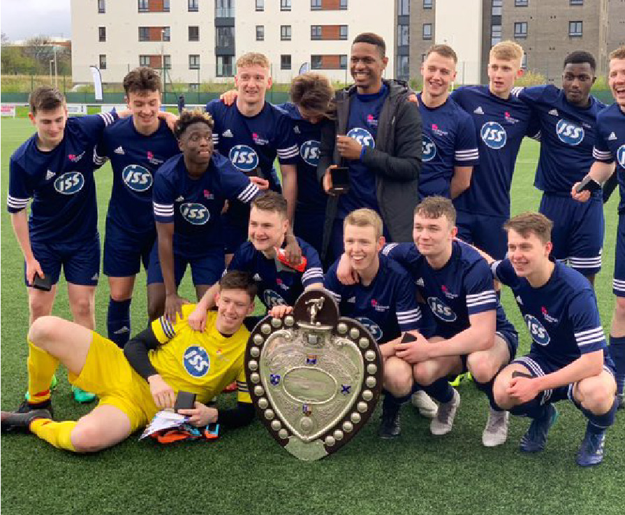 Edinburgh College becomes first college to win prestigious Queen's Park Shield