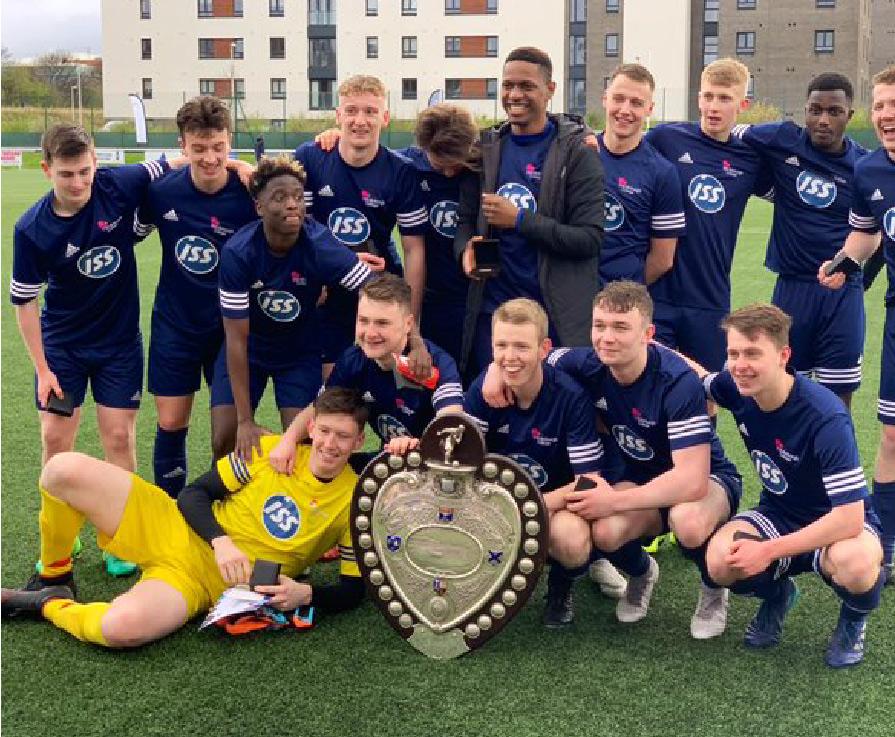 Edinburgh College becomes first college to win prestigious Queen's Park Shield