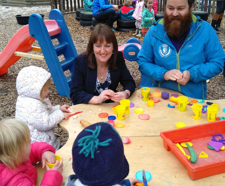 Challenge Fund launched to improve gender balance in early learning and childcare roles,