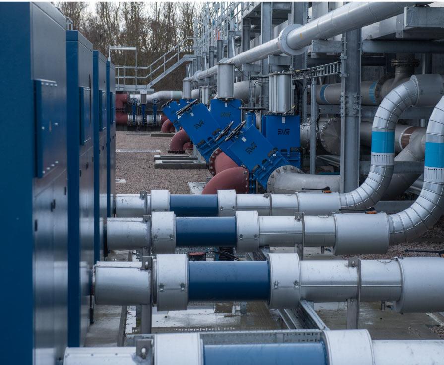Inverurie wastewater treatment works
