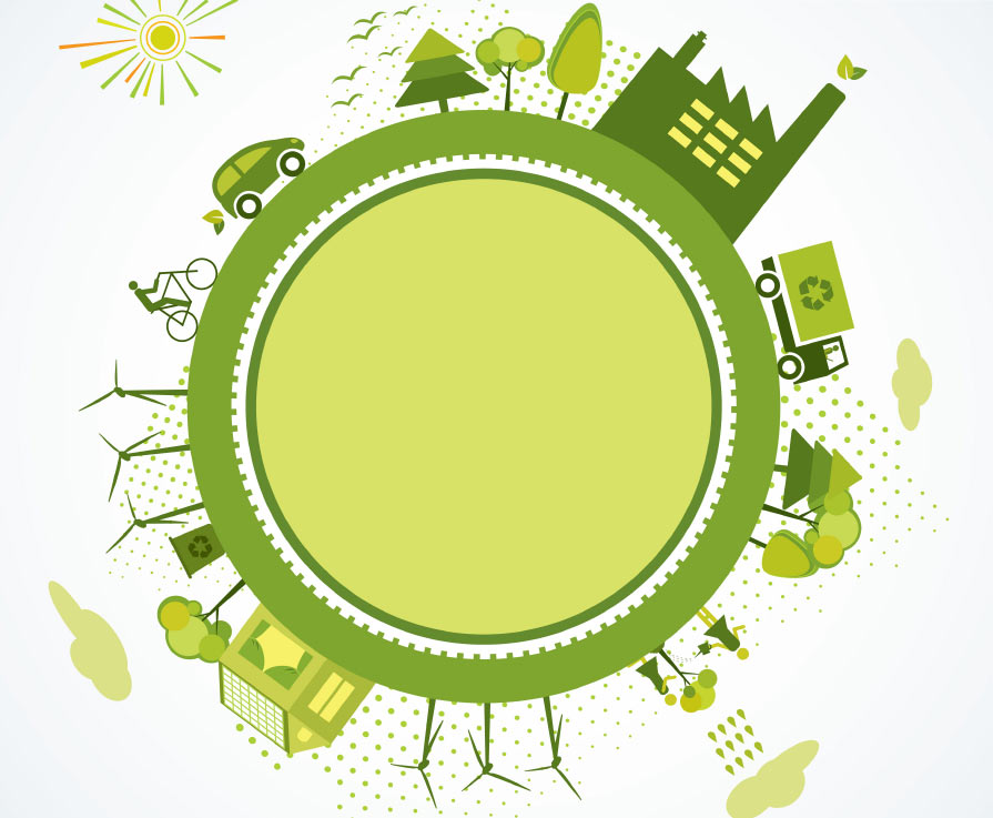 Green World sustainability concept